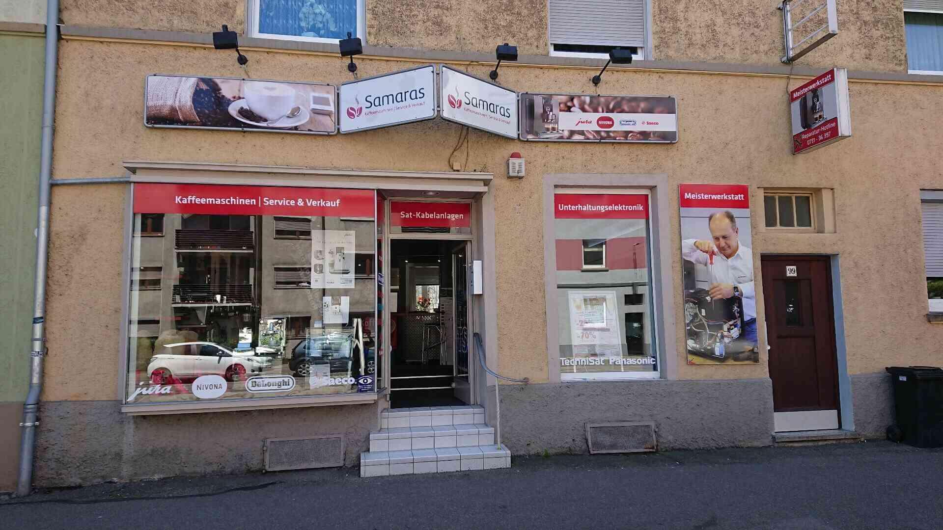 Kaffeemaschinen Reparatur Ulm Euronics Samaras