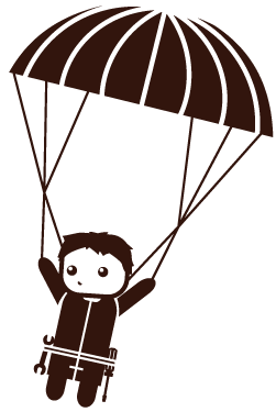 Fallschirmspringer Icon
