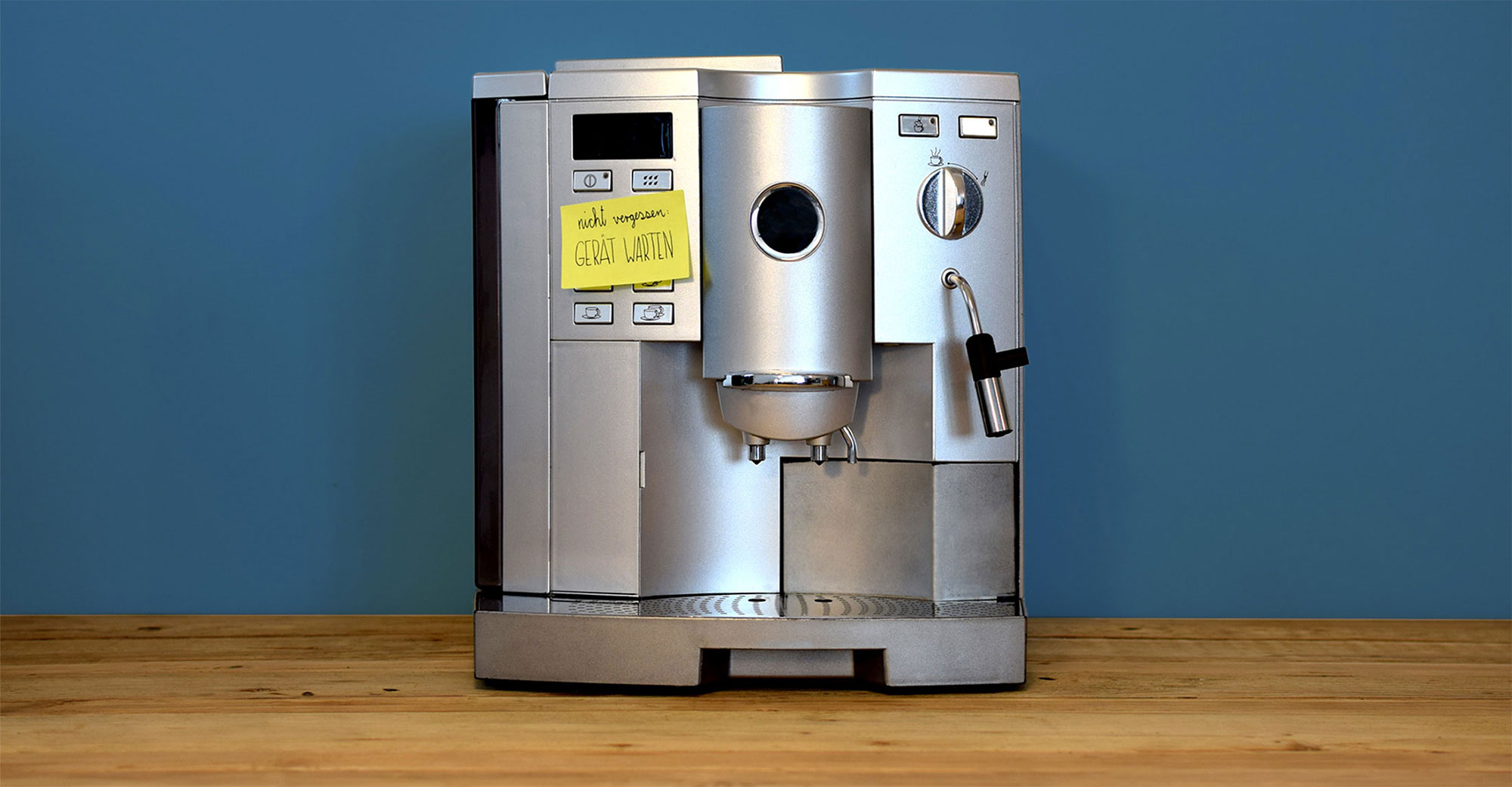 Kaffeevollautomat zieht kein wasser was tun meinmacher - Gartenpumpe zieht kein wasser ...