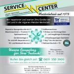 Reparatur Kaiserslautern - Service Center Koch - Werbeflyer