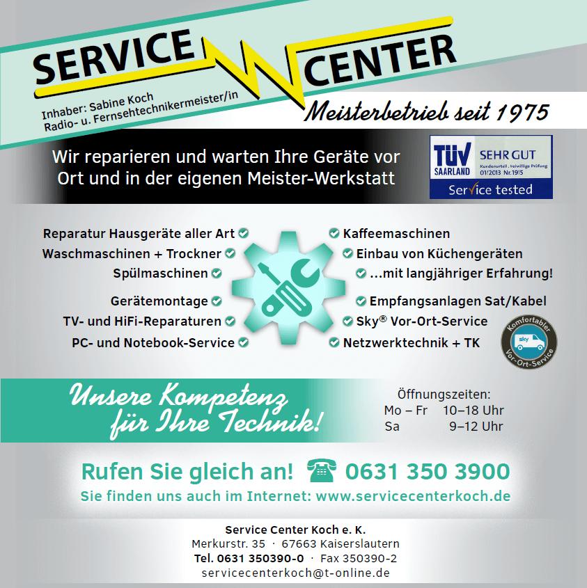 Hausger te kundendienst kaiserslautern service center for Koch kaiserslautern