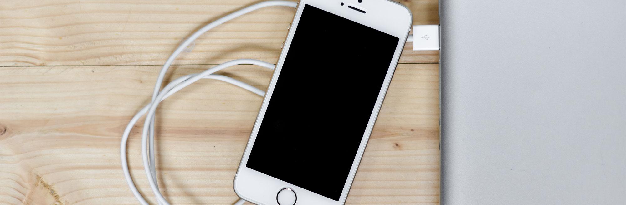 Smartphone Display Flackert