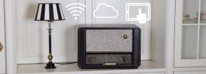 Altes Radio mit upgrade, technisch aufgerüstet, internetfähig
