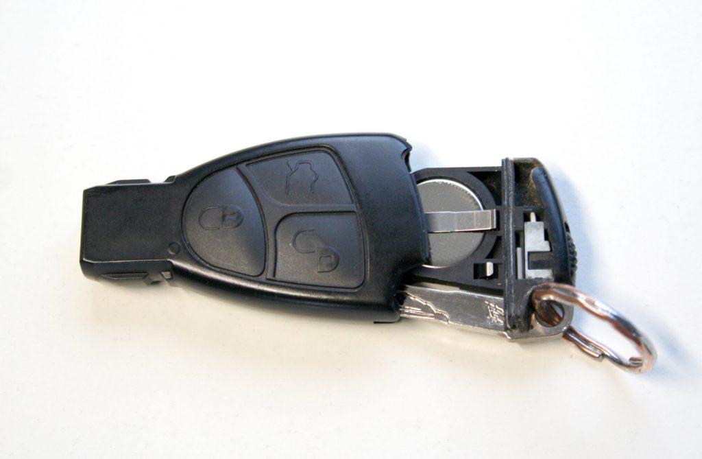 Autoschlüssel-Gehäuse-offen