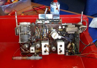 Röhrenradio Chassis