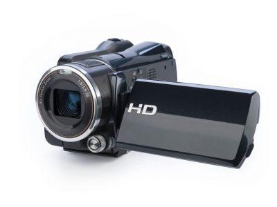 Camcorder in schwarz mit HD