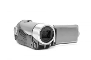 Camcorder in silber