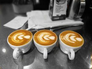Crema auf Cappuccino