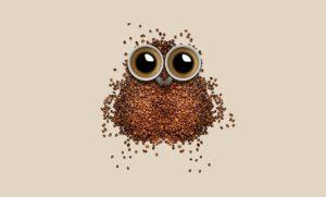 Kaffee-Eule