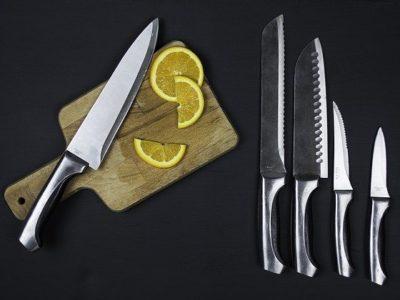 Verschiedene Küchenmesser
