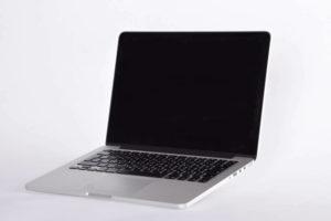 MacBookPro seitlich