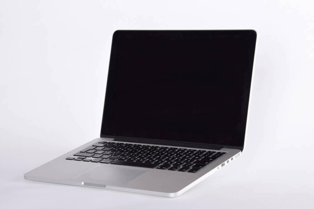 MacBook Pro seitlich
