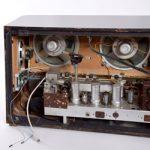 Röhrenradio offen