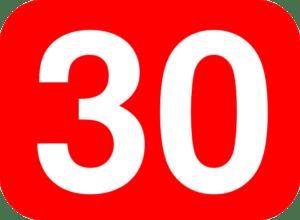 Die rote 30