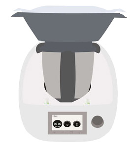 Thermomix-Icon TM6 mit Varomat