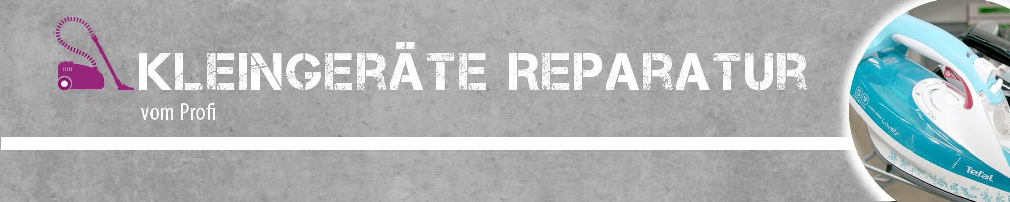 Titelbild Kleingeräte-Reparatur