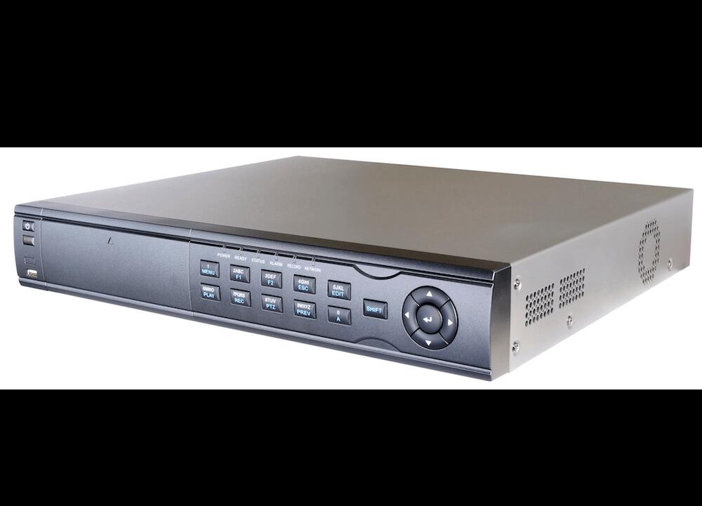 Videorekorder in silber
