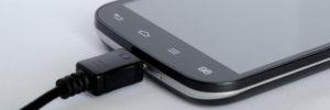 Smartphone USB-Buchse