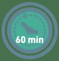 Reparaturdauer von Küchenmaschinen 60 Minuten