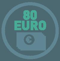 Lohnertrag Küchenmaschine durchschnittlich 80 Euro