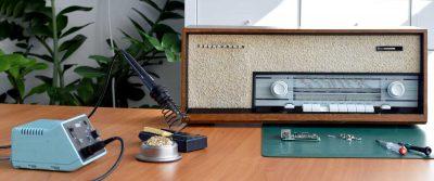 Röhrenradio Aufbereitung
