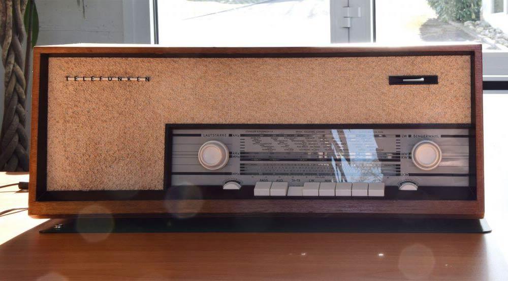 Telefunken Röhrenradio